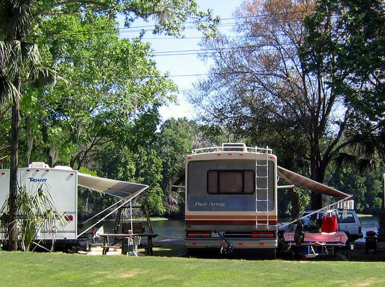 Central Florida Rv Park And Resort Tent Camping And